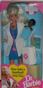 1994 Dr. Barbie with AA Baby