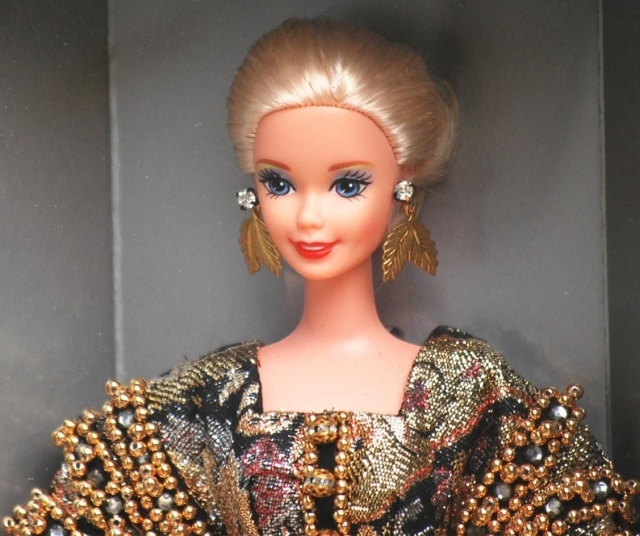 1995 1st Christian Dior Barbie® Doll face