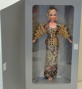 1995 1st  Christian Dior Barbie® Doll inside