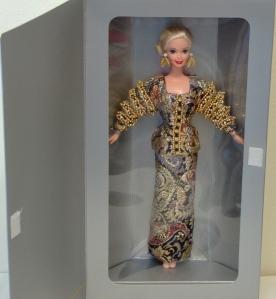 1995 1st Christian Dior Barbie® Doll inside