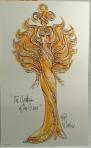 1995 Bob Mackie Goddess of the Sun® Barbie® Doll print