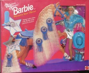 1995 Toys R Us Western Stampin' gift set