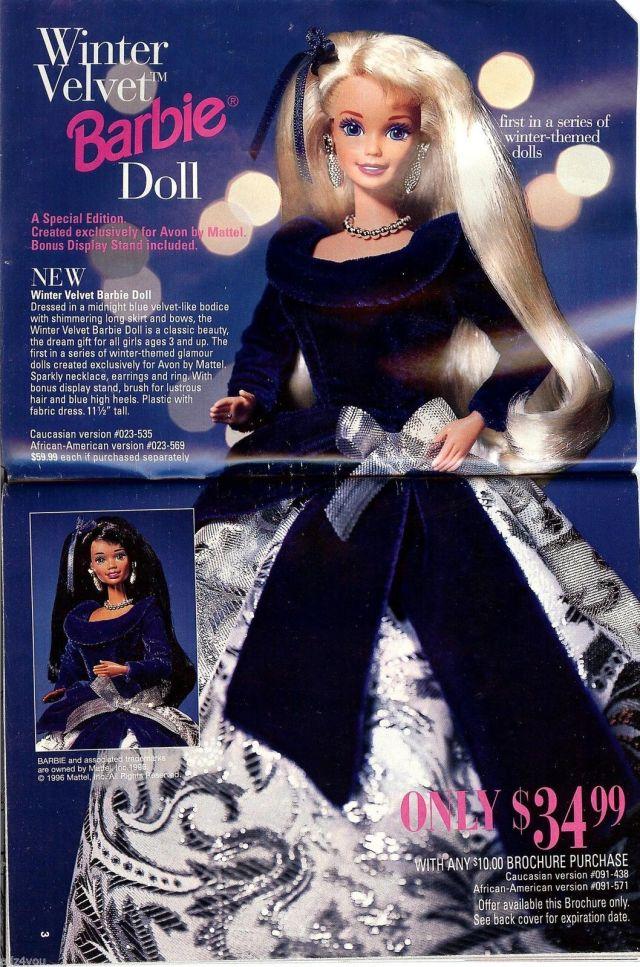 1996 Avon Winter Velvet - AD
