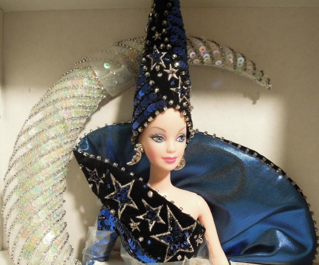 1996 Bob Mackie Moon Goddess® Barbie® Doll face