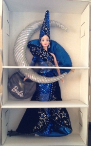 1996 Bob Mackie Moon Goddess® Barbie® Doll inside