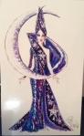 1996 Bob Mackie Moon Goddess® Barbie® Doll print