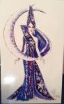 1996 Bob Mackie Moon Goddess® Barbie® Doll print