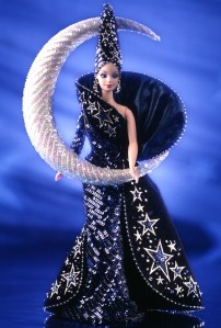 1996 Bob Mackie Moon Goddess® Barbie® Doll