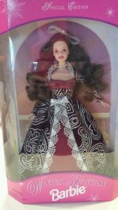 1996 Sam's Club Winter Fantasy brunette