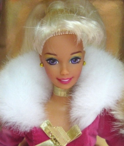 1997  Avon Winter Rhapsody Platinum face