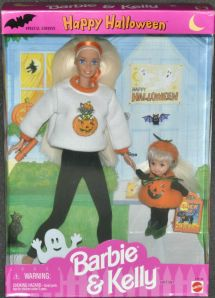 1997 Barbie & Kelly Halloween Target gift set