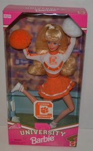 1997  Clemson University Barbie