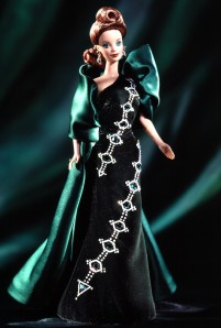 1997 Emerald Embers™ Barbie® Doll flyer