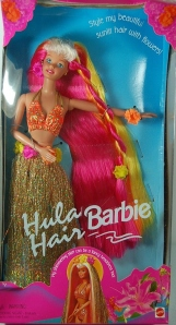 1997 Hula Hair barbie
