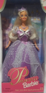 1997 Jewel Princess barbie