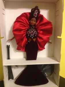 1997 Ruby Radiance™ Barbie® Doll inside