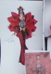 1997 Ruby Radiance™ Barbie® Doll print and booklet