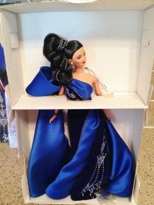 1997 Sapphire Splendor™ Barbie® Doll inside