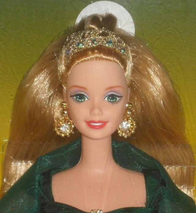 1997 Toys R Us Emerald Enchantment face
