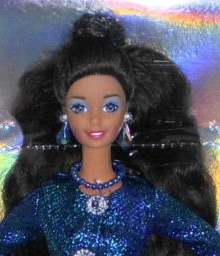 1997 Toys R Us Sapphire Sophisticate AA face