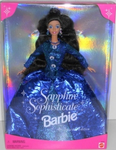 1997 Toys R Us Sapphire Sophisticate  AA