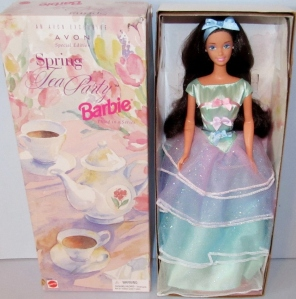 1998 Avon Spring Tea Party brunette