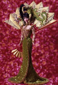 1998 Bob Mackie Fantasy Goddess of Asia® Barbie® Doll flyer