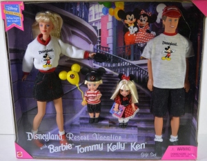 1998 Disneyland Resort Vacation with Barbie, Ken, Tommy and Kelly