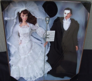 1998 FAO Schwarz The Phantom of the Opera Barbie and Ken