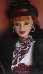1998 Harley-Davidson® Barbie® Doll #2 fACE