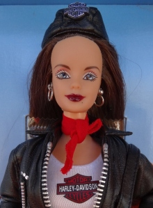 1999 Harley-Davidson® Barbie® Doll face
