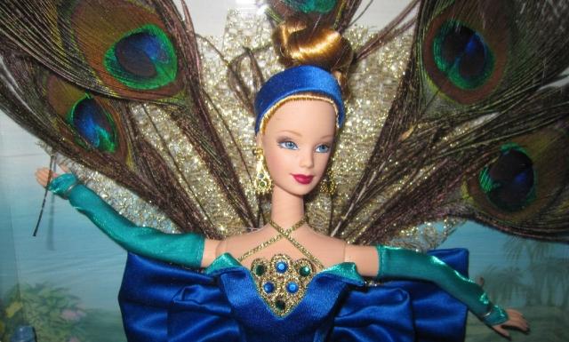 1998 Peacock face