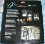 1998 The X-Files Barbie and Ken gift set back