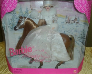 1998 Toys R Us Winter Ride gift set