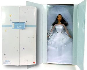 1999 Barbie Blushing Bride AA