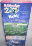 1999 Barbie Disney World 2000 back