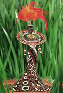 1999 Bob Mackie Fantasy Goddess of Africa™ Barbie® Doll flyer