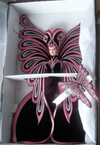 1999 Bob Mackie Le Papillon™ Barbie® Doll inside