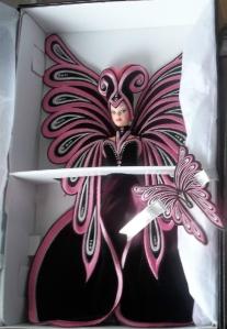 1999 Bob Mackie Le Papillon™ Barbie® Doll inside