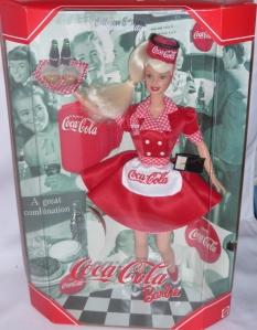 1999  Coca-Cola 1950s blonde NRFB