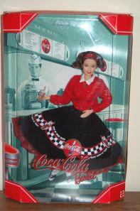 1999  Coca-Cola 1950s  brunette NRFB