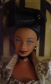 1999 FAO SCHWARZ METRO GOLDEN MAYER GOLDEN HOLLYWOOD AA BARBIE-face