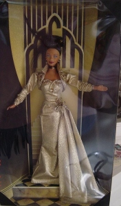 1999 FAO SCHWARZ METRO GOLDEN MAYER GOLDEN HOLLYWOOD AA BARBIE-nrfb