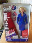 2000 Barbie For President Doll NRFB