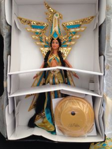 2000 Fantasy Goddess of the Americas™ Barbie® Doll inside
