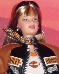 2000 Harley-Davidson® Barbie® Doll #4 FACE
