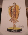 2001 Bob Mackie The Charleston Barbie® Doll pint