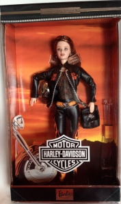 2001 Harley-Davidson® Barbie® Doll #5 box