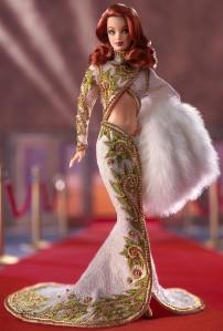 2002 Radiant Redhead™ Barbie® Doll flyer