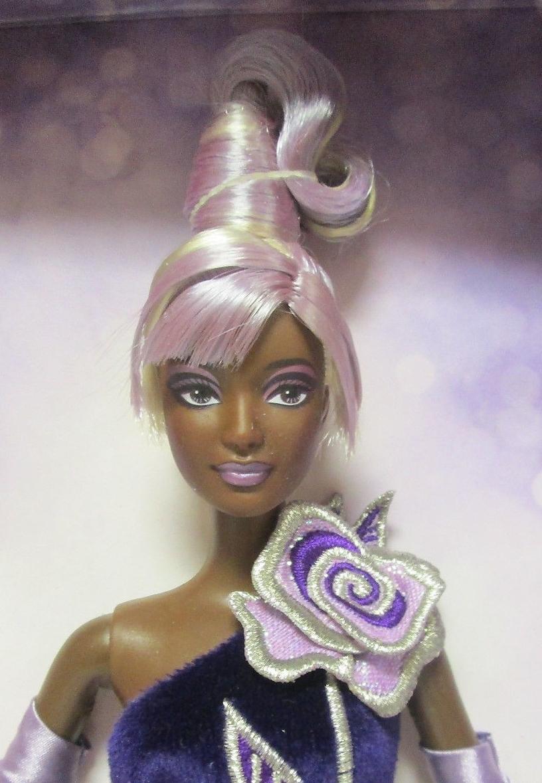 Sterling Silver Rose Barbie